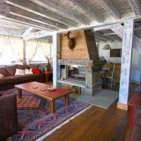 Exemple salon avec cheminée